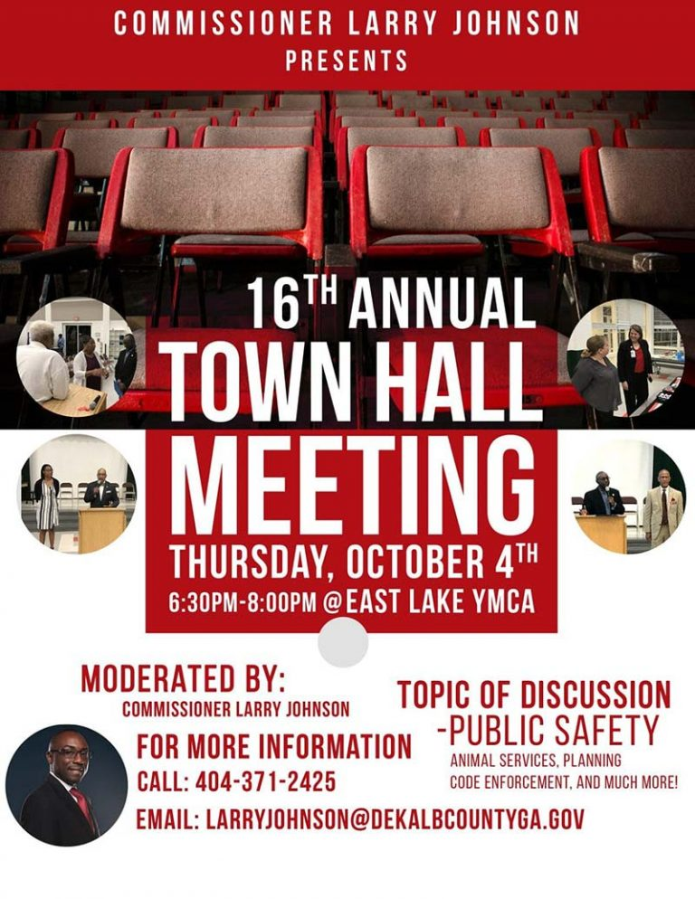 Fall Town Hall Meeting Public Safety