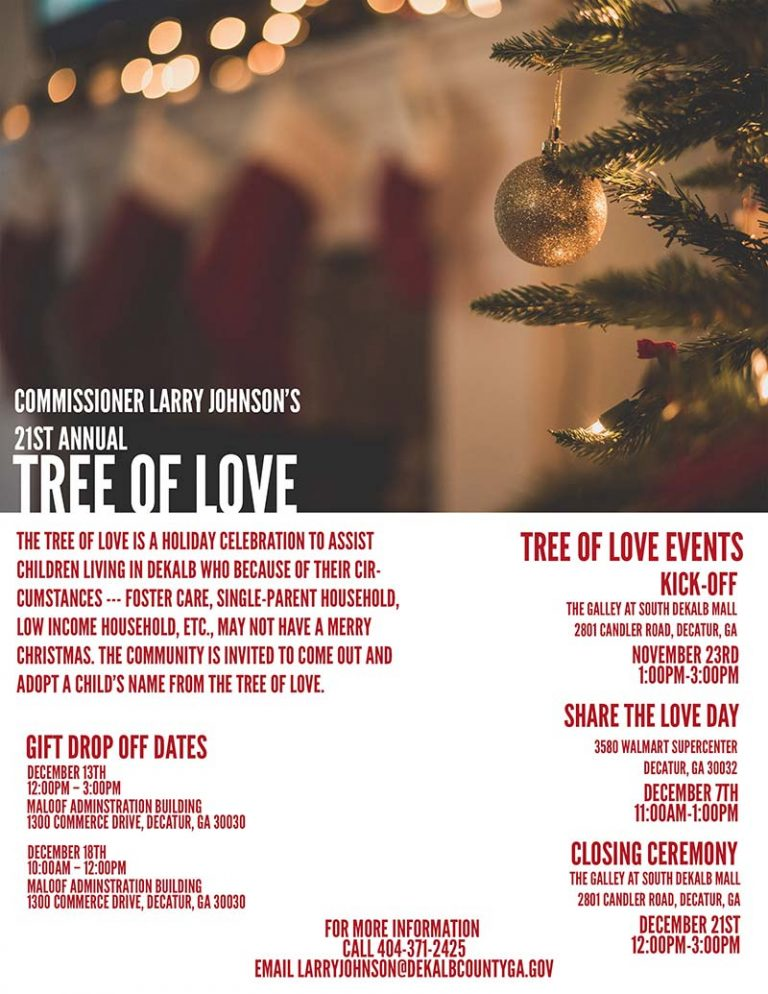 21st Annual Tree of Love