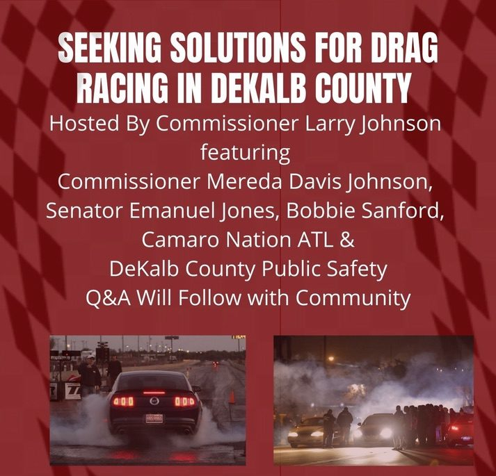 Seeking Solutions for Drag Racing in Dekalb County